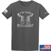 IV8888 Huckleberry T-Shirt T-Shirts Small / Charcoal by Ballistic Ink - Made in America USA