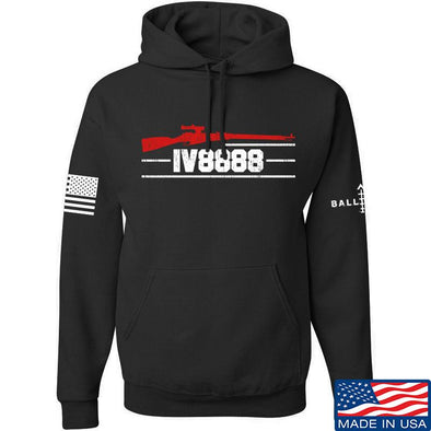 IV8888 IV8888 Logo Hoodie Hoodies Small / Black by Ballistic Ink - Made in America USA