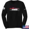 IV8888 IV8888 Logo Long Sleeve T-Shirt Long Sleeve Small / Black by Ballistic Ink - Made in America USA