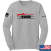 IV8888 IV8888 Logo Long Sleeve T-Shirt Long Sleeve Small / Light Grey by Ballistic Ink - Made in America USA