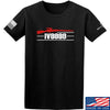 IV8888 IV8888 Logo T-Shirt T-Shirts Small / Black by Ballistic Ink - Made in America USA