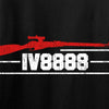 IV8888 IV8888 Logo Long Sleeve T-Shirt Long Sleeve [variant_title] by Ballistic Ink - Made in America USA