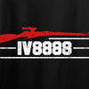 IV8888 Ladies IV8888 Logo V-Neck T-Shirts, V-Neck [variant_title] by Ballistic Ink - Made in America USA