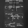IV8888 M240 Machine Gun Specs Hoodie Hoodies [variant_title] by Ballistic Ink - Made in America USA
