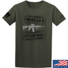 IV8888 Modern Pitchfork T-Shirt T-Shirts Small / Military Green by Ballistic Ink - Made in America USA