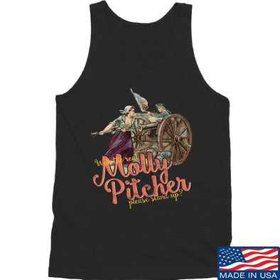 IV8888 Ladies Molly Pitcher Tank Tanks SMALL / Black by Ballistic Ink - Made in America USA