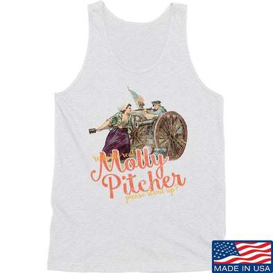 IV8888 Ladies Molly Pitcher Tank Tanks SMALL / White by Ballistic Ink - Made in America USA