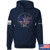 IV8888 Original Rebel Alliance Hoodie Hoodies Small / Navy by Ballistic Ink - Made in America USA