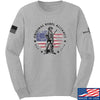 IV8888 Original Rebel Alliance Long Sleeve T-Shirt Long Sleeve Small / Light Grey by Ballistic Ink - Made in America USA