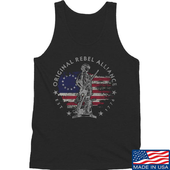 IV8888 Original Rebel Alliance Tank Tanks SMALL / Black by Ballistic Ink - Made in America USA