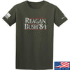 IV8888 Reagan Bush T-Shirt T-Shirts Small / Military Green by Ballistic Ink - Made in America USA