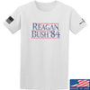 IV8888 Reagan Bush T-Shirt T-Shirts Small / White by Ballistic Ink - Made in America USA