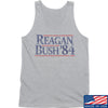 IV8888 Reagan Bush Tank Tanks SMALL / Light Grey by Ballistic Ink - Made in America USA