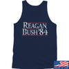 IV8888 Reagan Bush Tank Tanks SMALL / Navy by Ballistic Ink - Made in America USA
