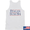 IV8888 Reagan Bush Tank Tanks SMALL / White by Ballistic Ink - Made in America USA