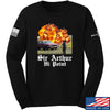 IV8888 Sir Arthur Hi Point Long Sleeve T-Shirt Long Sleeve Small / Black by Ballistic Ink - Made in America USA