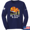 IV8888 Sir Arthur Hi Point Long Sleeve T-Shirt Long Sleeve Small / Navy by Ballistic Ink - Made in America USA