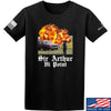 IV8888 Sir Arthur Hi Point T-Shirt T-Shirts Small / Black by Ballistic Ink - Made in America USA