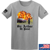 IV8888 Sir Arthur Hi Point T-Shirt T-Shirts Small / Light Grey by Ballistic Ink - Made in America USA