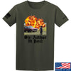 IV8888 Sir Arthur Hi Point T-Shirt T-Shirts Small / Military Green by Ballistic Ink - Made in America USA