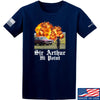 IV8888 Sir Arthur Hi Point T-Shirt T-Shirts Small / Navy by Ballistic Ink - Made in America USA