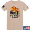 IV8888 Sir Arthur Hi Point T-Shirt T-Shirts Small / Sand by Ballistic Ink - Made in America USA