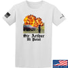IV8888 Sir Arthur Hi Point T-Shirt T-Shirts Small / White by Ballistic Ink - Made in America USA