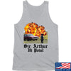 IV8888 Sir Arthur Hi Point Tank Tanks SMALL / Light Grey by Ballistic Ink - Made in America USA