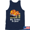 IV8888 Sir Arthur Hi Point Tank Tanks SMALL / Navy by Ballistic Ink - Made in America USA