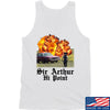 IV8888 Sir Arthur Hi Point Tank Tanks SMALL / White by Ballistic Ink - Made in America USA