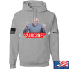 "IV8888 ""Suicide"" Hoodie Hoodies Small / Light Grey by Ballistic Ink - Made in America USA"