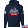 "IV8888 ""Suicide"" Hoodie Hoodies Small / Navy by Ballistic Ink - Made in America USA"