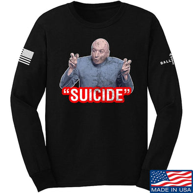 """Suicide"" Long Sleeve T-Shirt"