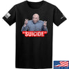"IV8888 ""Suicide"" T-Shirt T-Shirts Small / Black by Ballistic Ink - Made in America USA"