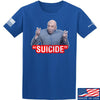 "IV8888 ""Suicide"" T-Shirt T-Shirts Small / Blue by Ballistic Ink - Made in America USA"