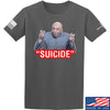 "IV8888 ""Suicide"" T-Shirt T-Shirts Small / Charcoal by Ballistic Ink - Made in America USA"