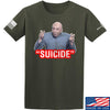"IV8888 ""Suicide"" T-Shirt T-Shirts Small / Military Green by Ballistic Ink - Made in America USA"