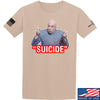 "IV8888 ""Suicide"" T-Shirt T-Shirts Small / Sand by Ballistic Ink - Made in America USA"