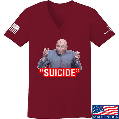"Ladies ""Suicide"" V-Neck"