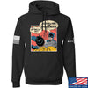 IV8888 Superhero Pro 2A Hoodie Hoodies Small / Black by Ballistic Ink - Made in America USA