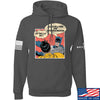 IV8888 Superhero Pro 2A Hoodie Hoodies Small / Charcoal by Ballistic Ink - Made in America USA