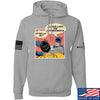 IV8888 Superhero Pro 2A Hoodie Hoodies Small / Light Grey by Ballistic Ink - Made in America USA
