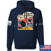 IV8888 Superhero Pro 2A Hoodie Hoodies Small / Navy by Ballistic Ink - Made in America USA