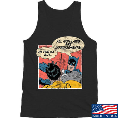 IV8888 Superhero Pro 2A Tank Tanks SMALL / Black by Ballistic Ink - Made in America USA