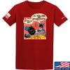 IV8888 Superhero Pro 2A T-Shirt T-Shirts Small / Red by Ballistic Ink - Made in America USA