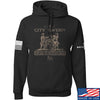 IV8888 Founding Fathers' City Tavern Signage Hoodie Hoodies Small / Black by Ballistic Ink - Made in America USA
