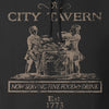 IV8888 Founding Fathers' City Tavern Signage Hoodie Hoodies [variant_title] by Ballistic Ink - Made in America USA