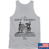 IV8888 Founding Fathers' City Tavern Signage Tank Tanks SMALL / Light Grey by Ballistic Ink - Made in America USA
