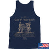 IV8888 Founding Fathers' City Tavern Signage Tank Tanks SMALL / Navy by Ballistic Ink - Made in America USA