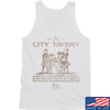 IV8888 Founding Fathers' City Tavern Signage Tank Tanks SMALL / White by Ballistic Ink - Made in America USA